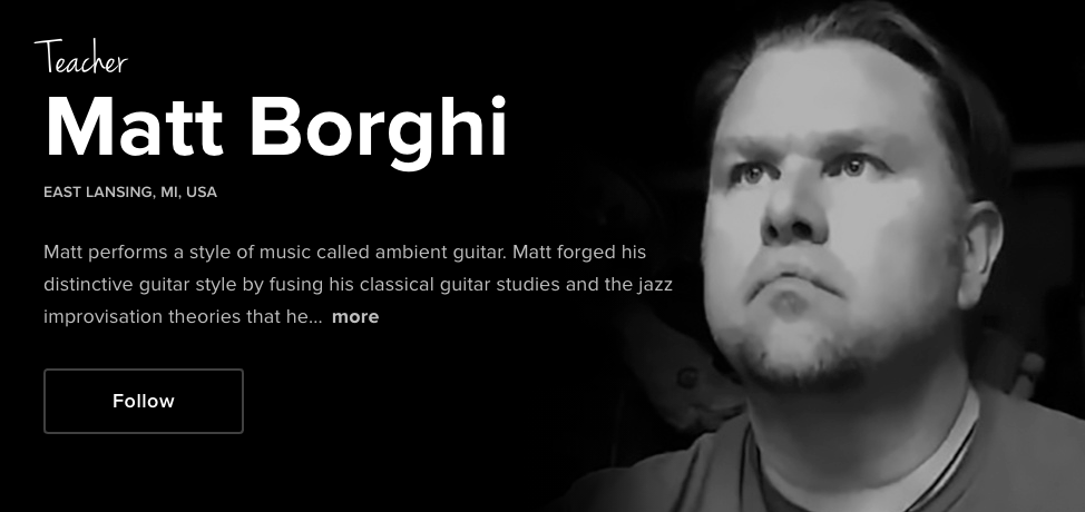 Matt Borghi Ambient Soundbath Insight Time